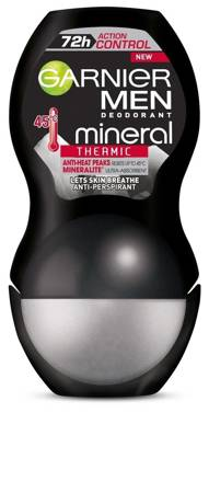 Garnier Mineral Men 72h Dezodorant roll-on Action Control Thermic  50ml